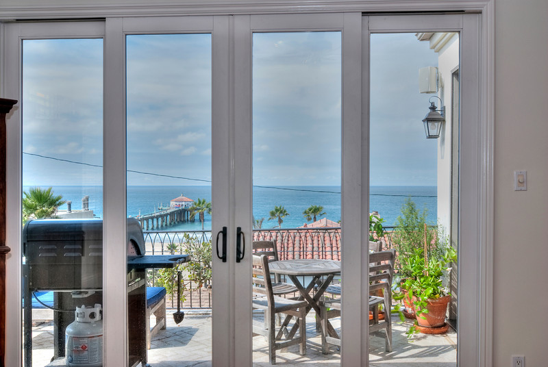 Sliding Glass Doors To Living Room Balcony