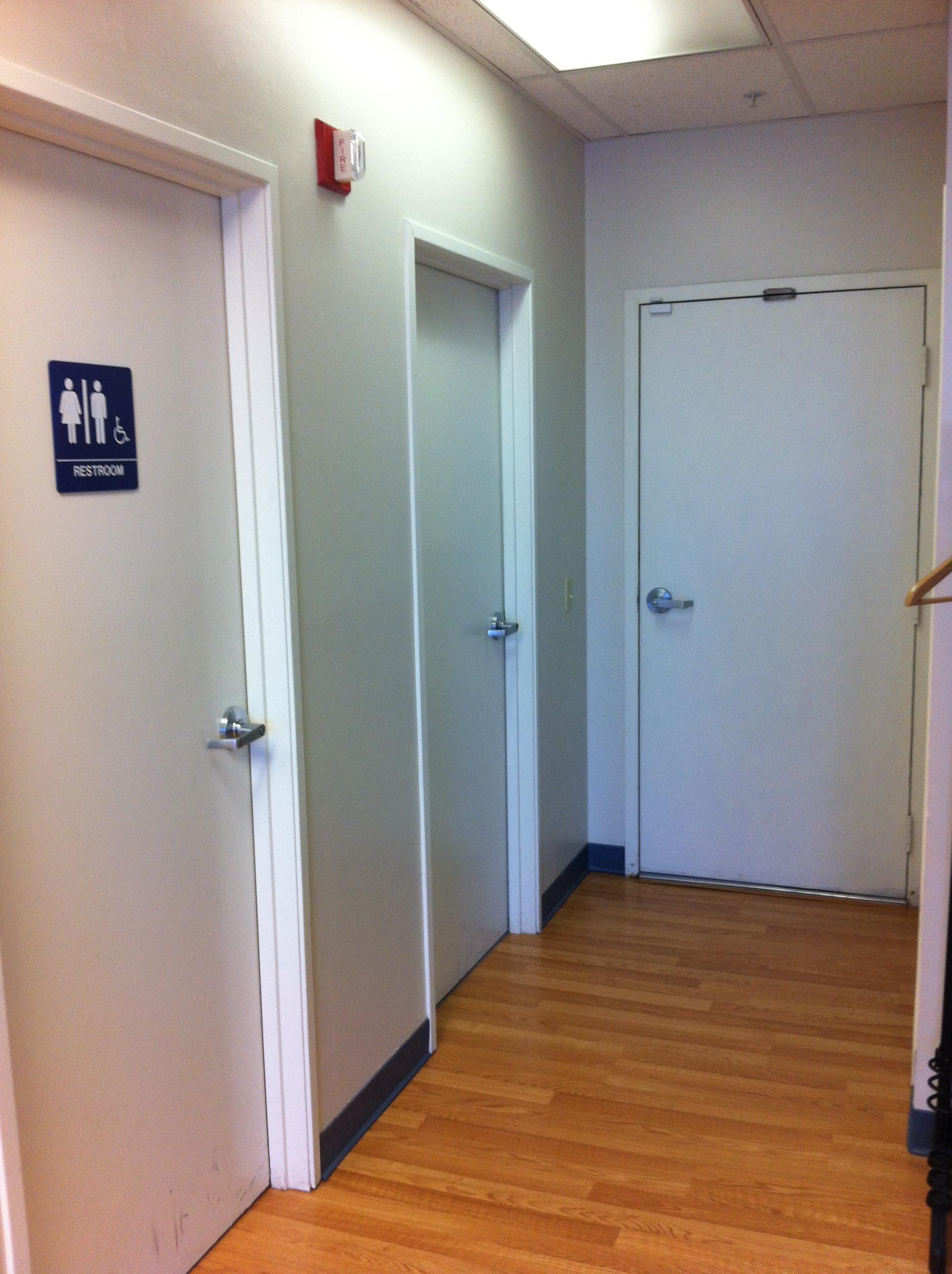 Hallway - Bathroom, Storage, Roof Access Doors